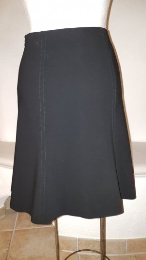 Armani Collezioni Plaid Skirt black