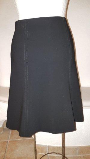 Armani Collezioni Jupe à plis noir