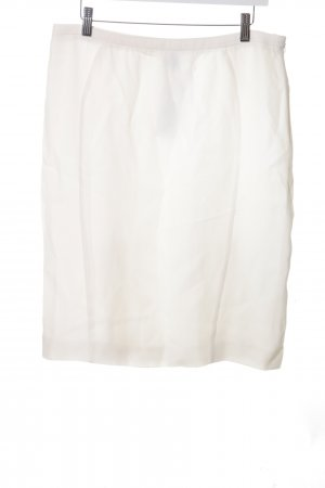 Armani Collezioni Pencil Skirt white casual look