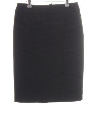 Armani Collezioni Jupe crayon noir style d'affaires