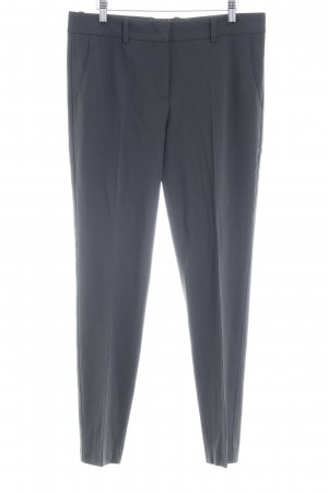 Armani Collezioni Bundfaltenhose anthrazit Business-Look
