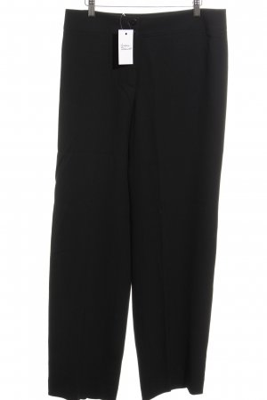 Armani Collezioni Pleated Trousers black business style
