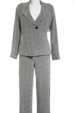 Armani Collezioni Business-Anzug grau-schwarz meliert Business-Look