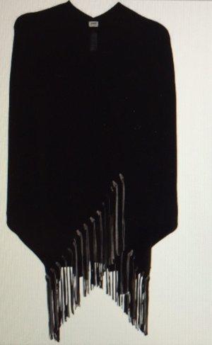 Armani Collezioni Cape zwart-grijs