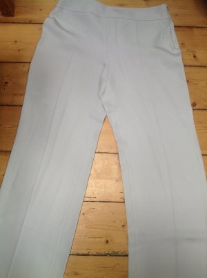 Armani Collezioni Marlene Trousers light grey mixture fibre