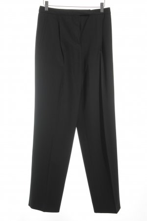 Armani Collezioni Low-Rise Trousers black business style