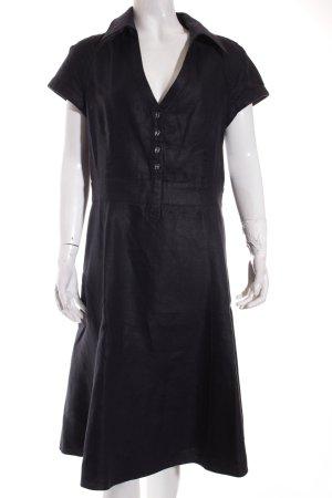 Armani Collezioni Kleid dunkelblau Casual-Look