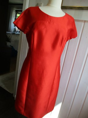 Armani Collezioni Sheath Dress red polyester