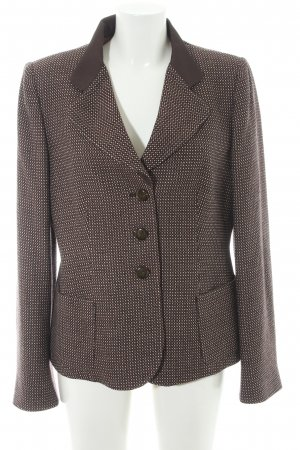 Armani Collezioni Korte blazer abstract patroon Britse uitstraling