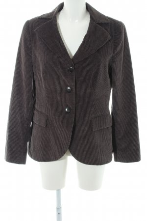 Armani Collezioni Short Blazer anthracite-dark grey dandy style