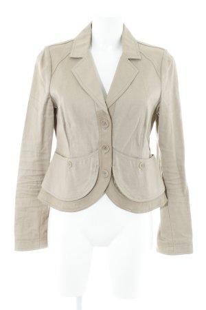 Armani Collezioni Kurz-Blazer beige klassischer Stil