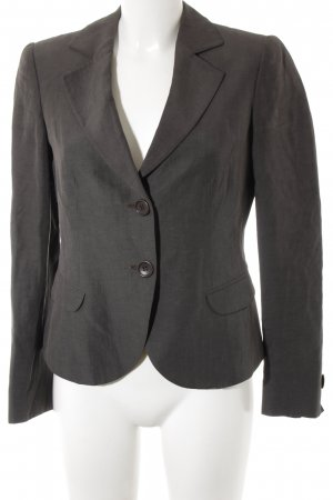 Armani Collezioni Short Blazer dark grey business style