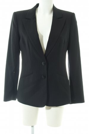 Armani Collezioni Long-Blazer schwarz Business-Look