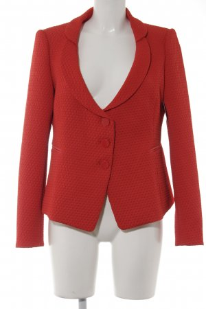 Armani Collezioni Long-Blazer hellrot Business-Look