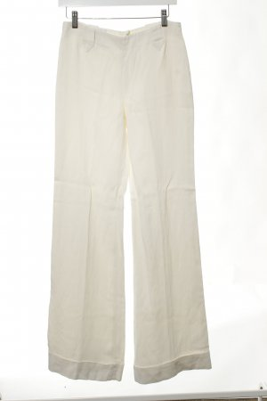 Armani Collezioni Marlene Trousers cream simple style