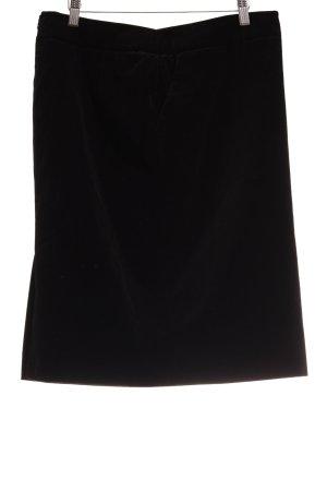 Armani Collezioni Midi-rok zwart elegant