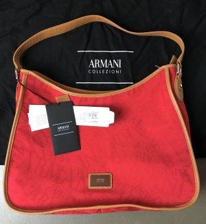 Armani Collezioni Sac porté épaule multicolore coton