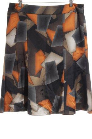 Armani Collezioni Seidenrock grafisches Muster Street-Fashion-Look
