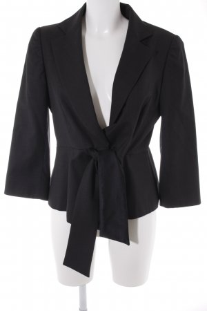 Armani Collezioni Smoking-Blazer schwarz Business-Look