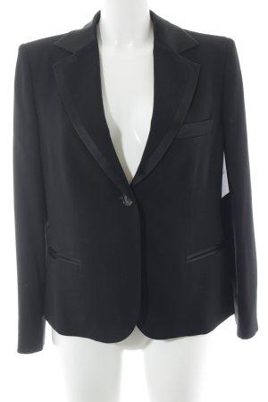 Armani Collezioni Blazer de esmoquin negro elegante