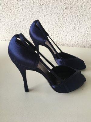 Armani Collezioni Slingback pumps donkerblauw
