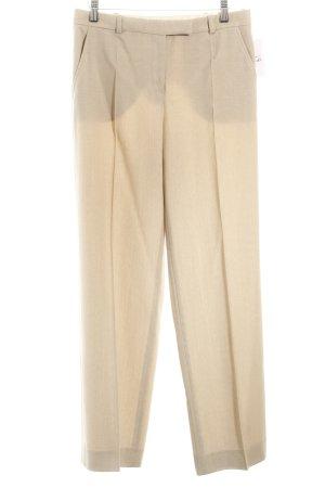 Armani Collezioni Stoffhose beige schlichter Stil
