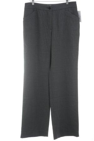 Armani Collezioni Stoffen broek donkerblauw-wit