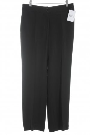 Armani Collezioni Jersey Pants black business style