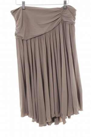 Armani Collezioni Stretchrock graubraun Elegant