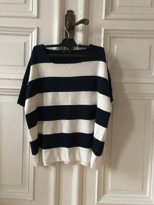 Armani Collezioni Short Sleeved Blouse dark blue
