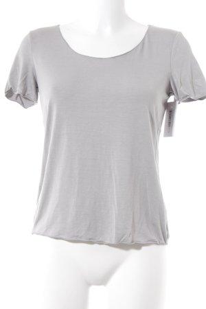 Armani Collezioni T-Shirt hellgrau Casual-Look
