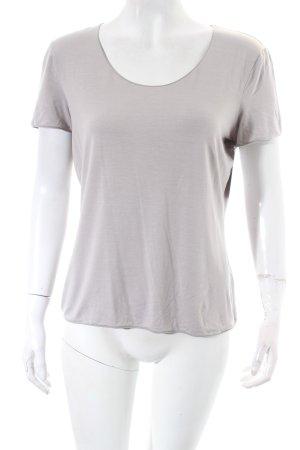 Armani Collezioni T-Shirt hellgrau schlichter Stil