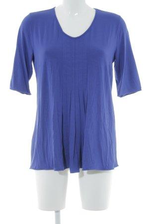 Armani Collezioni T-shirt lila casual uitstraling