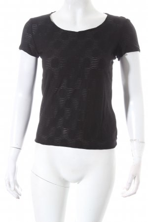 Armani Collezioni Top zwart casual uitstraling