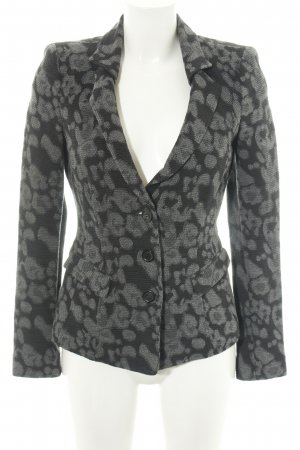 Armani Collezioni Tweed Blazer light grey abstract pattern elegant
