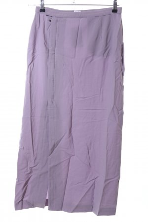 Armani Collezioni Jupe portefeuille violet style décontracté