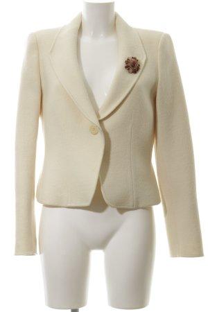 Armani Collezioni Woll-Blazer wollweiß Elegant