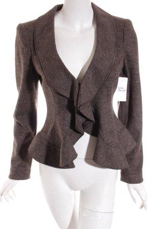 Armani Collezioni Woll-Blazer braun Casual-Look