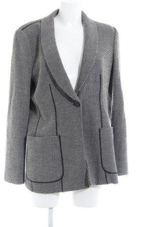 Armani Collezioni Woll-Blazer schwarz-wollweiß schlichter Stil