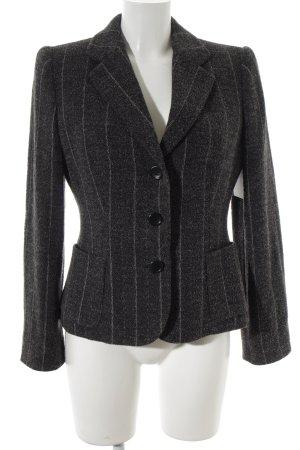 Armani Collezioni Blazer de lana estampado a rayas look casual