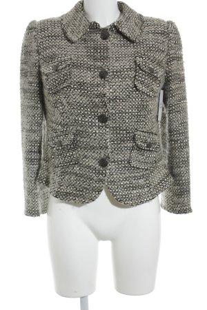 Armani Collezioni Wolljacke mehrfarbig Casual-Look
