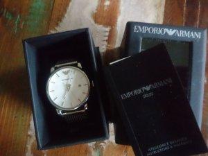 Armani Damen Armbanduhr Silber Neu OVP