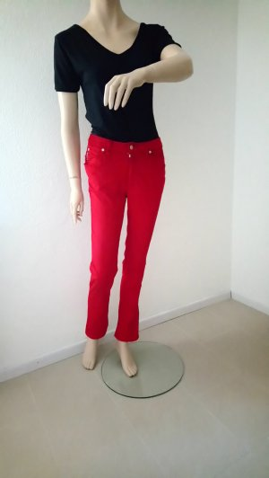 Armani High Waist Trousers red-dark red