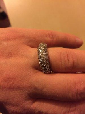 Armani Damenring Silber