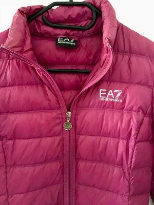 Emporio Armani Down Jacket pink-silver-colored