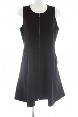 Armani Exchange A Line Dress black business style