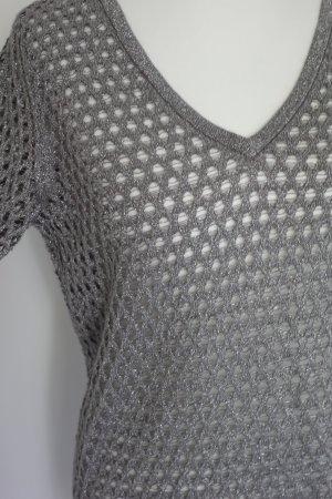 Armani Exchange Blusa color plata Poliéster