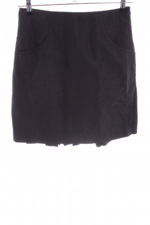 Armani Exchange Plaid Skirt black casual look