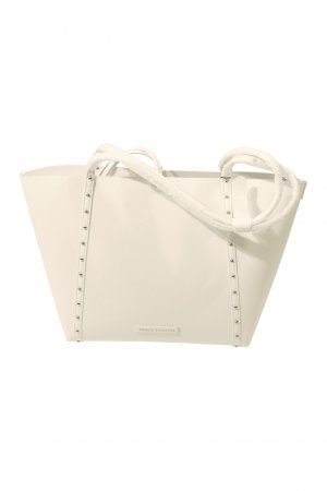 Armani Exchange Handbag white polyurethane