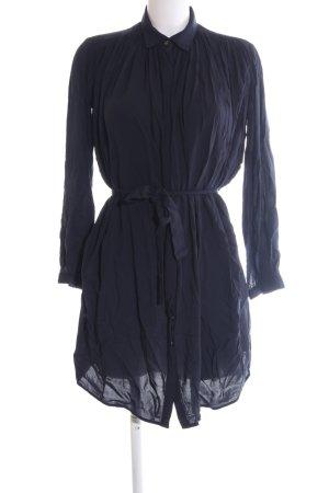 Armani Exchange Robe chemise bleu style décontracté
